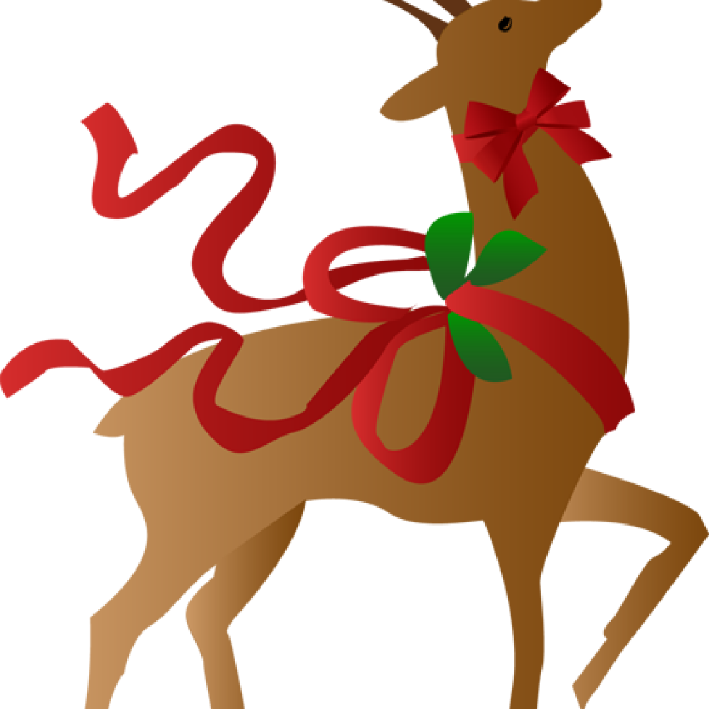 Download Free Christmas Reindeer Clipart Free Christmas Reindeer Transparent Reindeer Christmas Clipart Full Size Png Image Pngkit