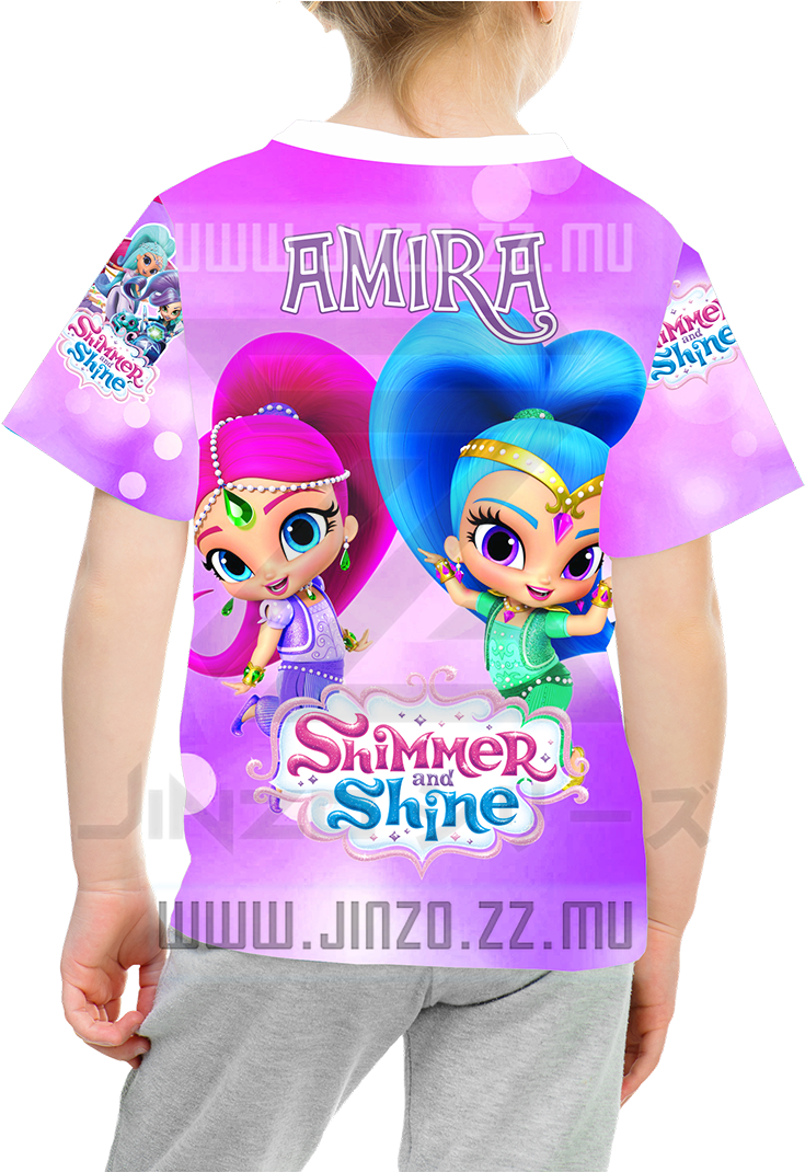 Download Katalog Jinzo Kids Shimmer And Shine 1 Kaos Anak Shimmer Shimmer And Shine Baju Full Size Png Image Pngkit