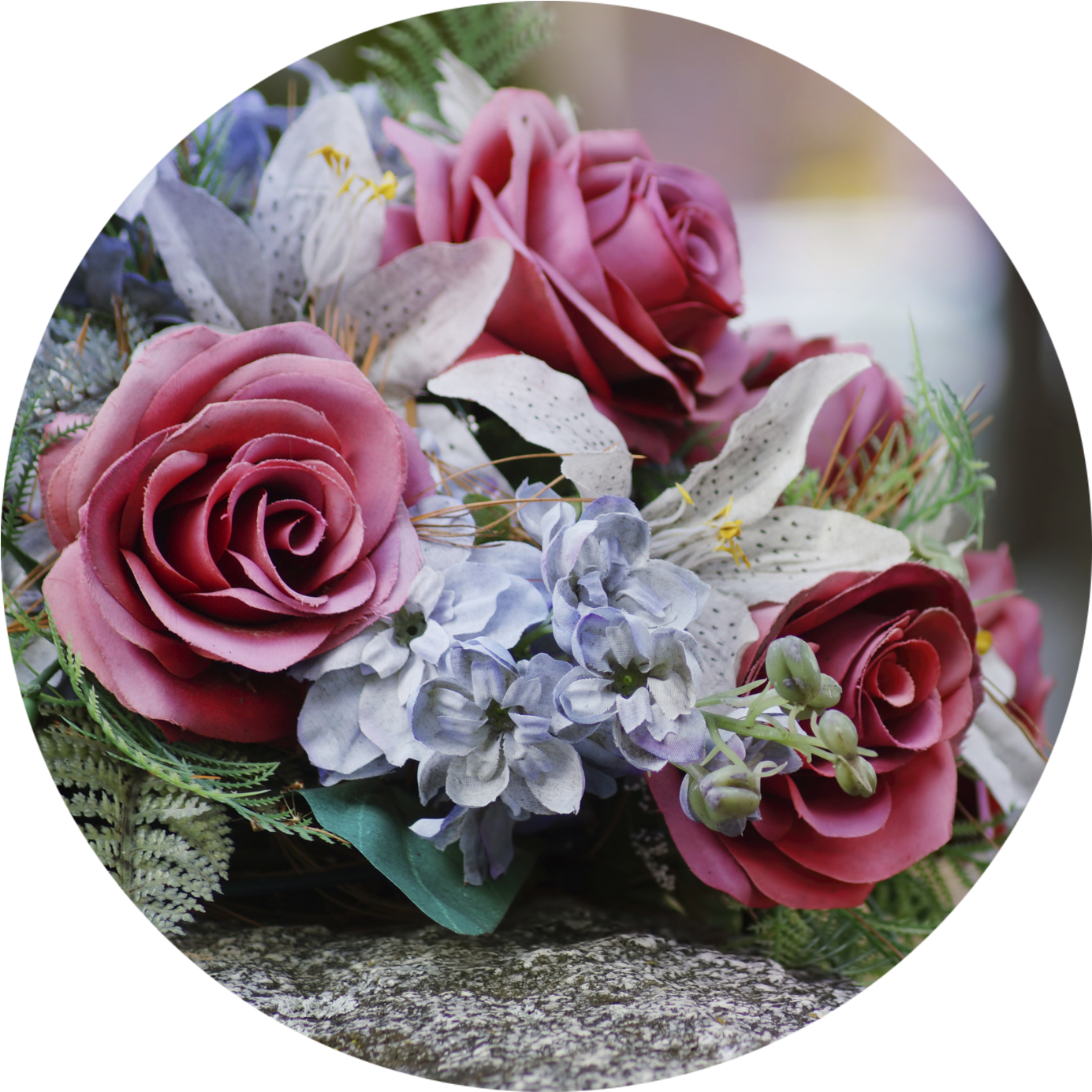 Flowers - Funeral Flowers For Men (1397x1396), Png Download