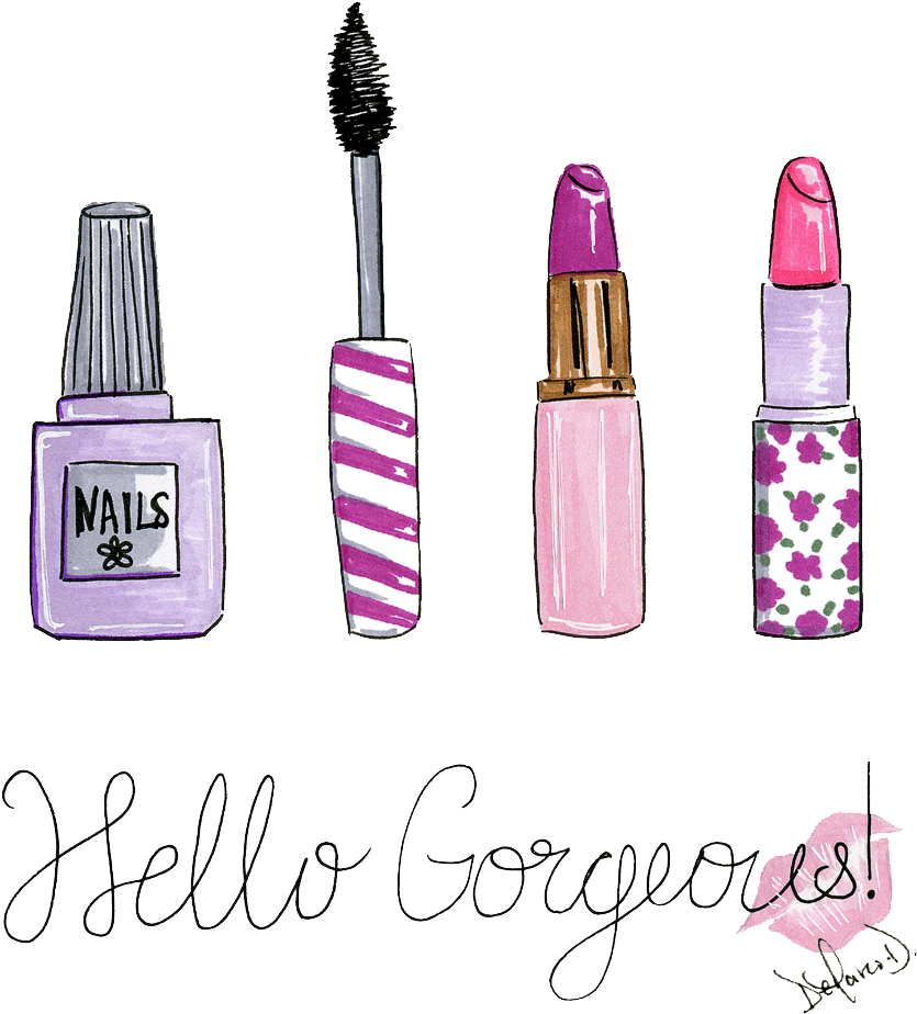 Be Makeup Girly Ilration