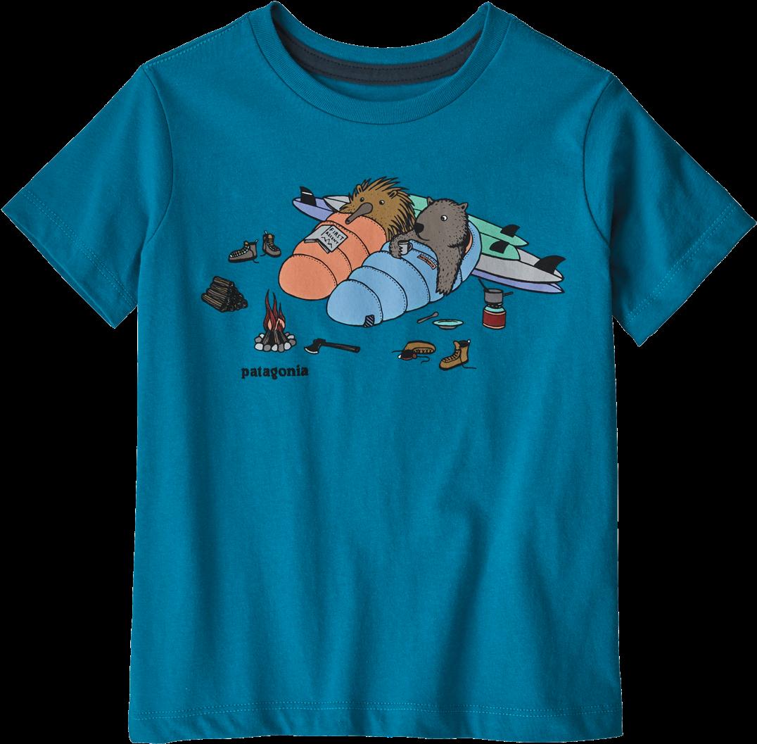 6c8c0de1b6cde Patagonia Baby Live Simply Organic T-shirt In Wombat - T-shirt (1275x1275