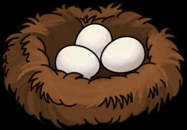 Download Bird Nest - Cartoon Birds Nest - Full Size PNG ...