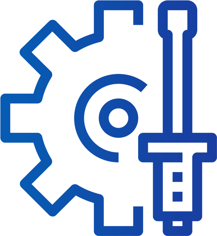 Download Production - Cog Icon - Full Size PNG Image - PNGkit