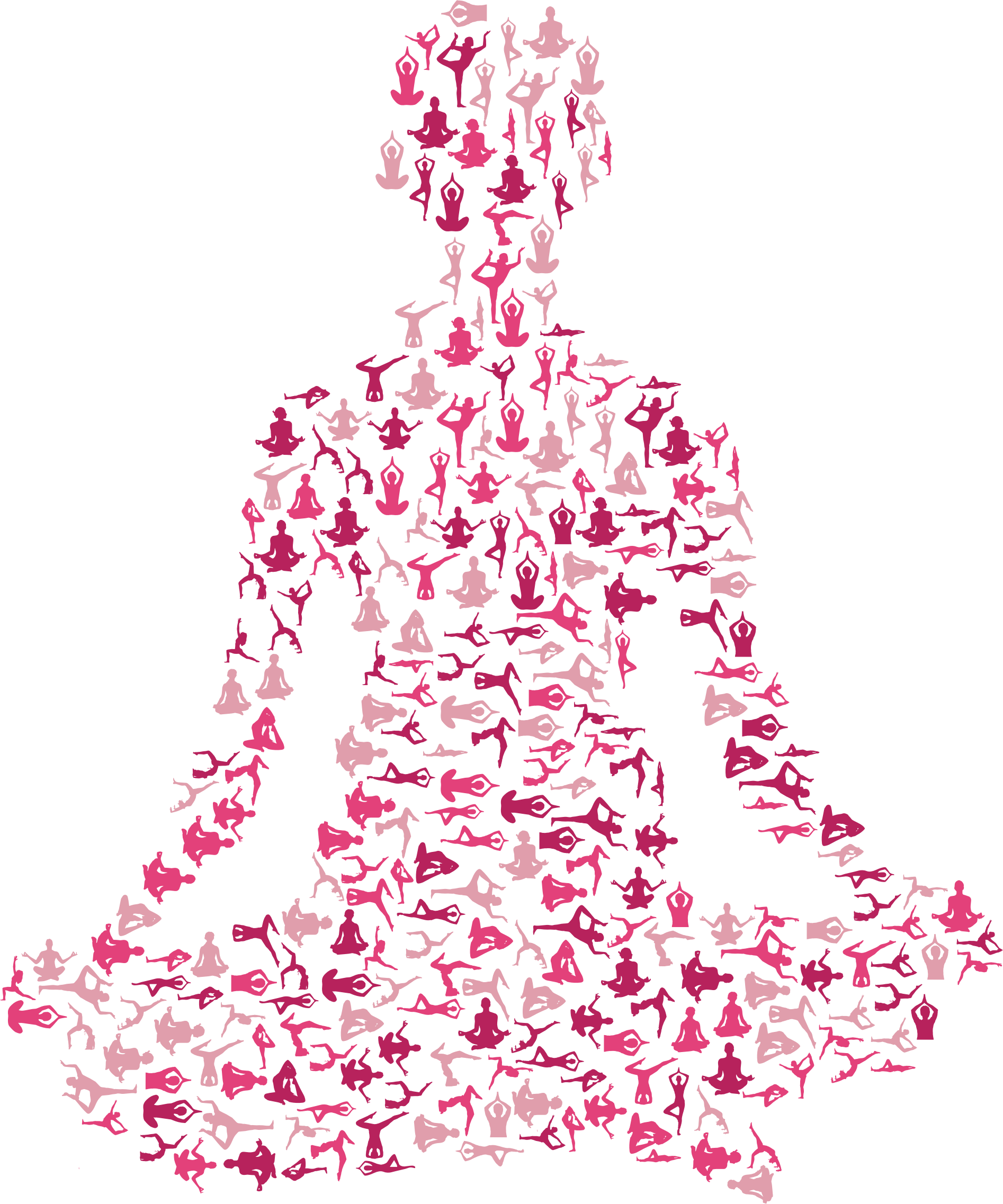 Download This Free Icons Png Design Of Female Yoga Pose Silhouette Full Size Png Image Pngkit