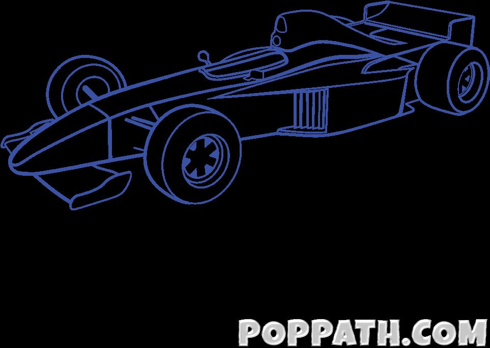 Download Designer Drawing Car Formula 1 Full Size Png Image Pngkit