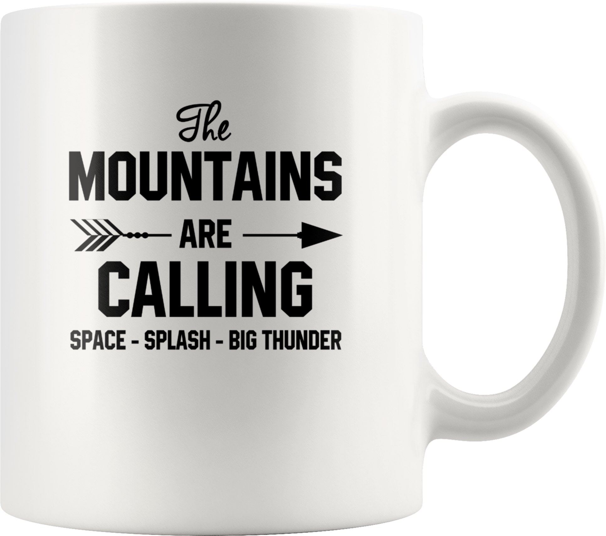 Download The Mountains Are Calling Space Splash Big Thunder
