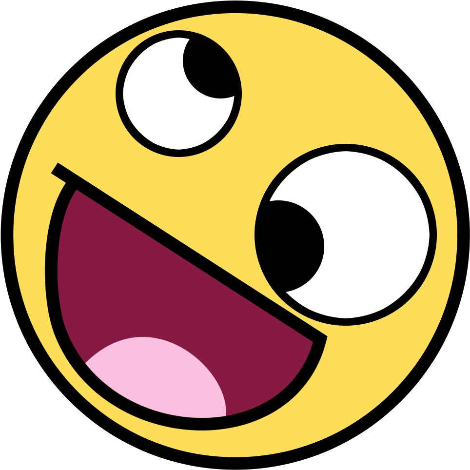 Download Crazylul Discord Emoji - Smiley Face - Full Size PNG Image