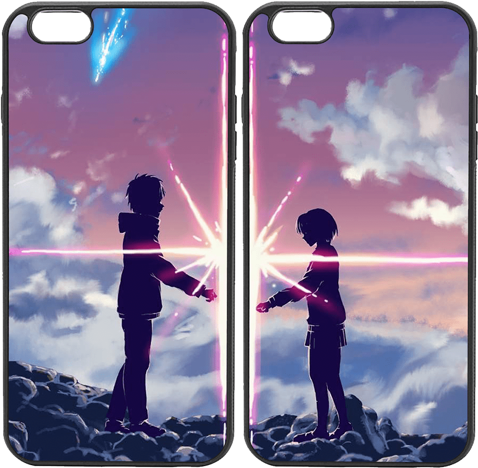 Download Anime Couple Kimi No Nawa Wallpaper Android Full Size