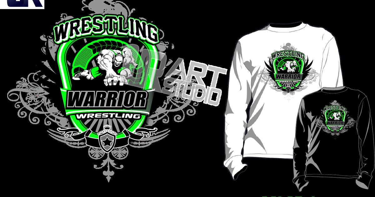 Download T Shirt Logo Design Creative Ideas Wrestling Design Full Size Png Image Pngkit