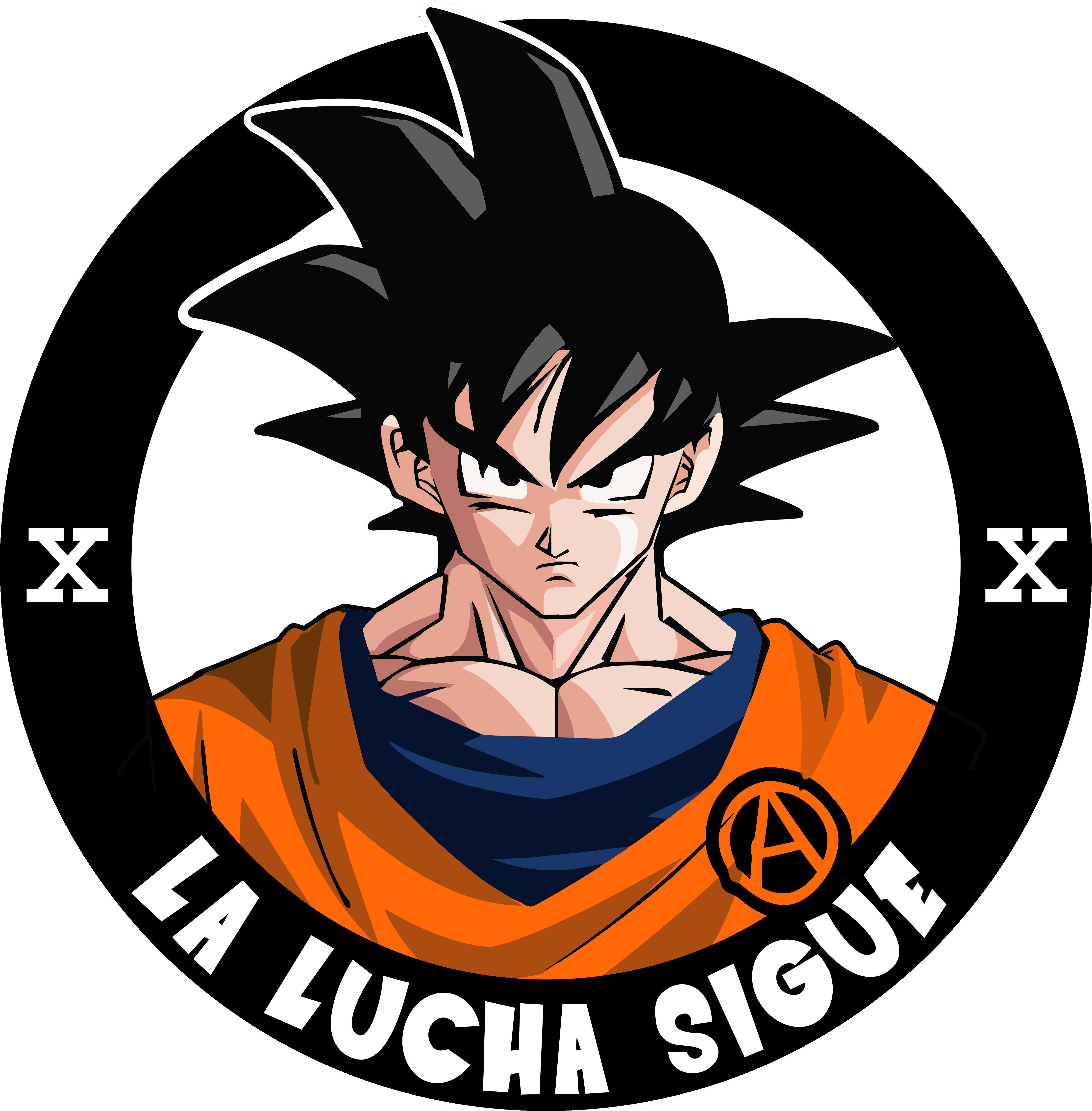 Goku Vive, La Lucha Sigue - Funny Dragon Ball Z Memes (4412x4489), Png Download