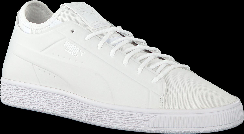 Download White Puma Sneakers Basket Classic Sock Lo Men ...