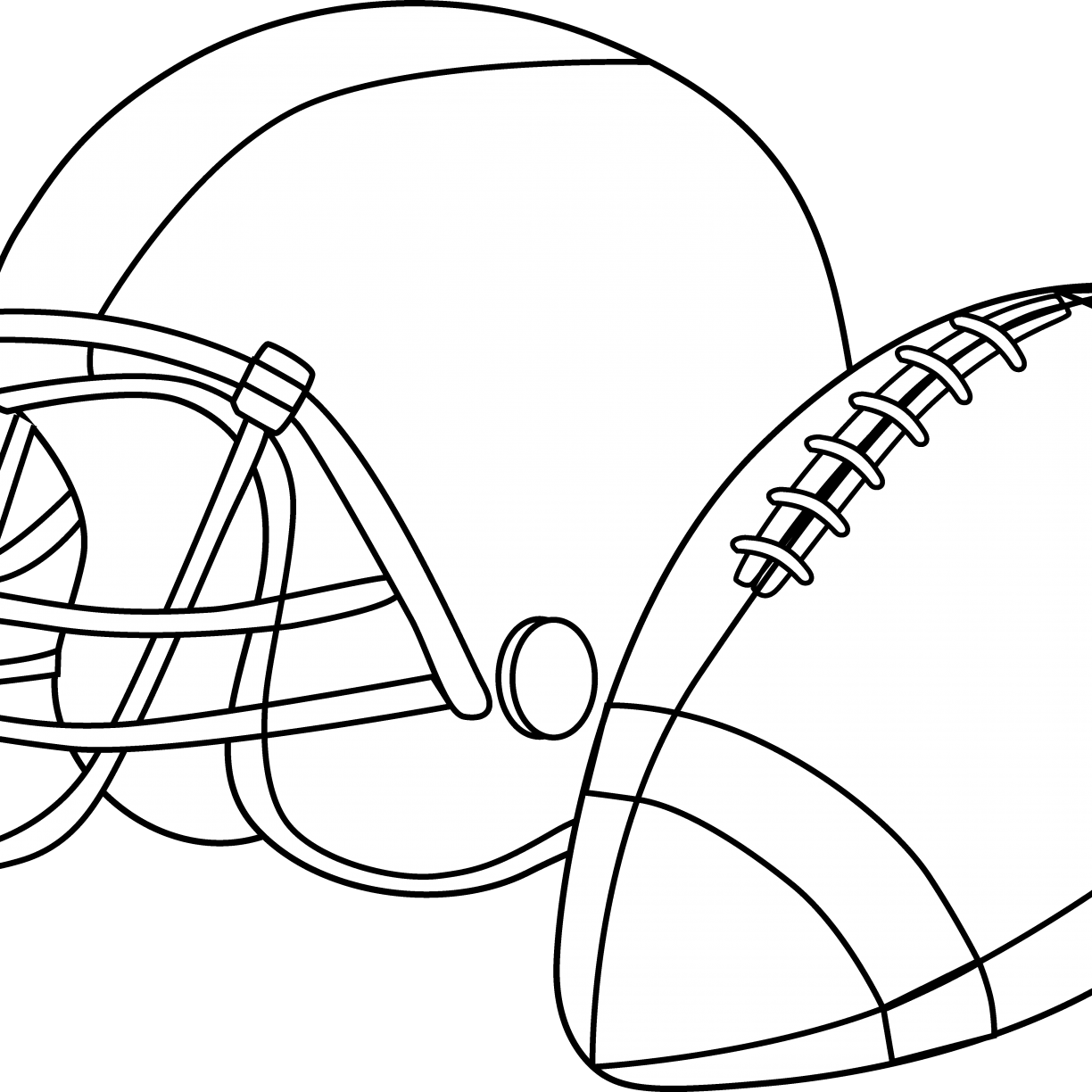 - Download Football Helmet Coloring Pages Preschool Denver Broncos