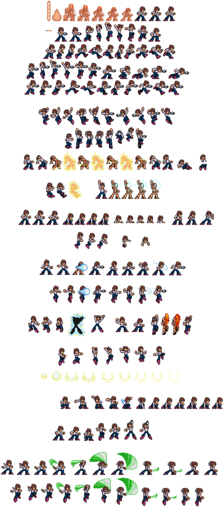 Download Photo Broil X1 Style Sprite Sheet Color Separation