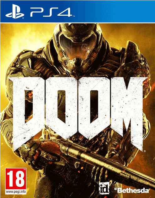 Download Doom Ps4 Cover - Full Size PNG Image - PNGkit