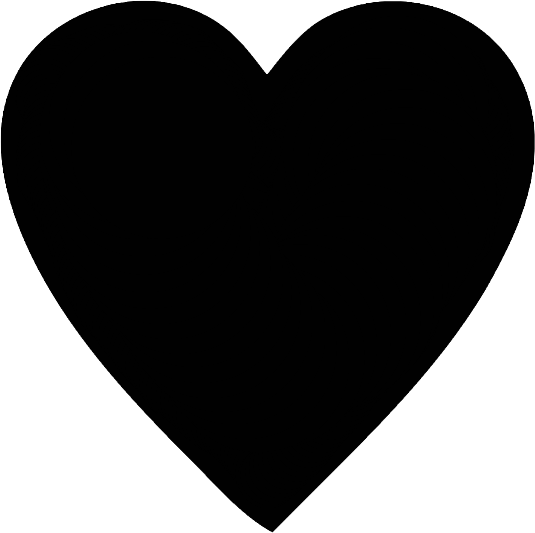 Download Transparent Black Hearts Tumblr Black Heart Full Size
