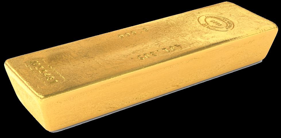 400 Oz Gold Bar Wood Full