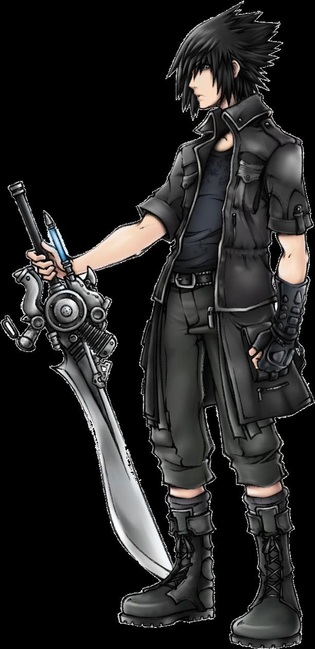 Download Noctis Png Final Fantasy 15 Noctis Concept Art Full Size Png Image Pngkit
