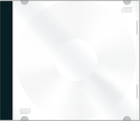 Download Transparent Cd Case Template Png Vector Royalty ...