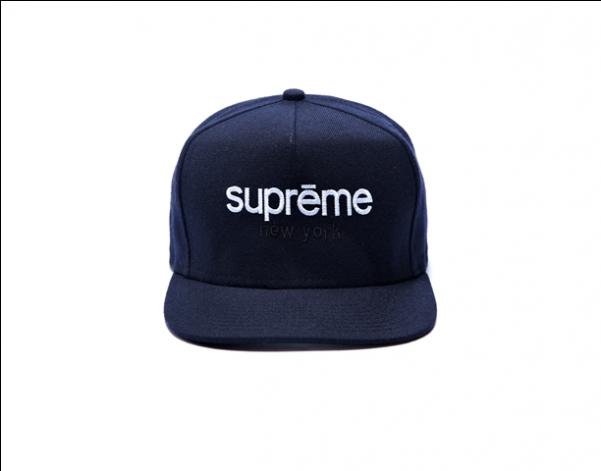 6b8ca4f1a31c4 Supreme Hats By Supreme New York Snapback Hat Navy - Baseball Cap (600x600)