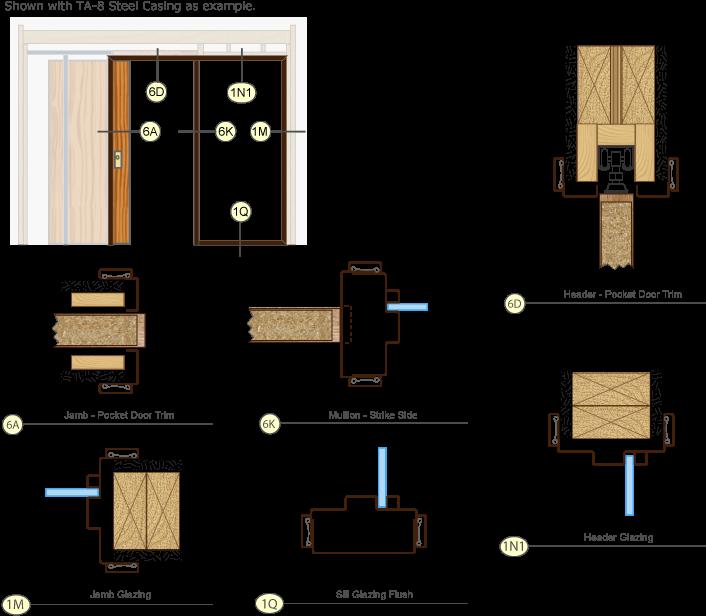 Download Timely Door Frames Pocket Door Trim Kit Single Drawing Floor Plan Full Size Png Image Pngkit