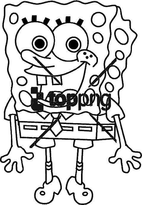 Download Free Png Spongebob Squarepants Colouring Pages Png