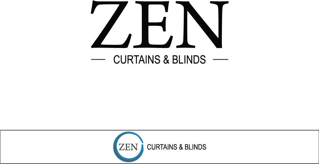 Logo Design By Smdhicks For Zen Curtains & Blinds - Body Central (1250x938),