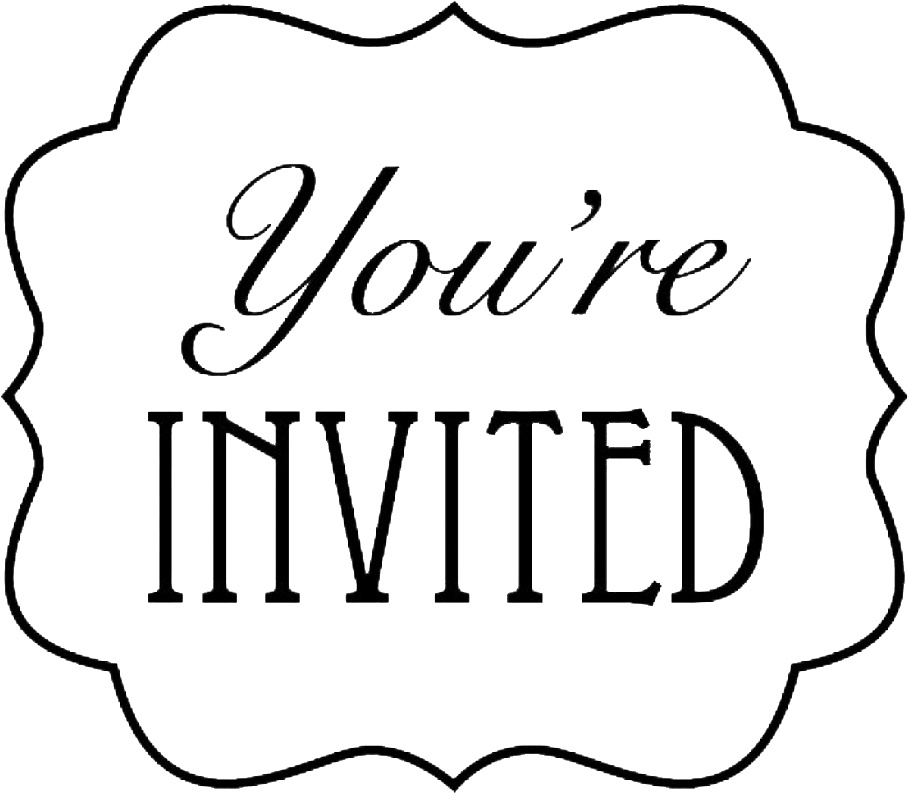 Download Seniors Department Of Communication Invitation You Re Invited Full Size Png Image Pngkit