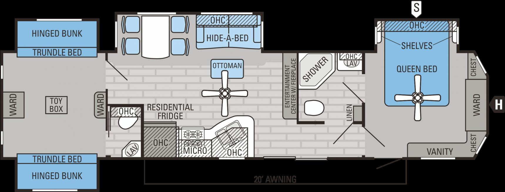 Download 3 Bedroom Rv Floor Plan