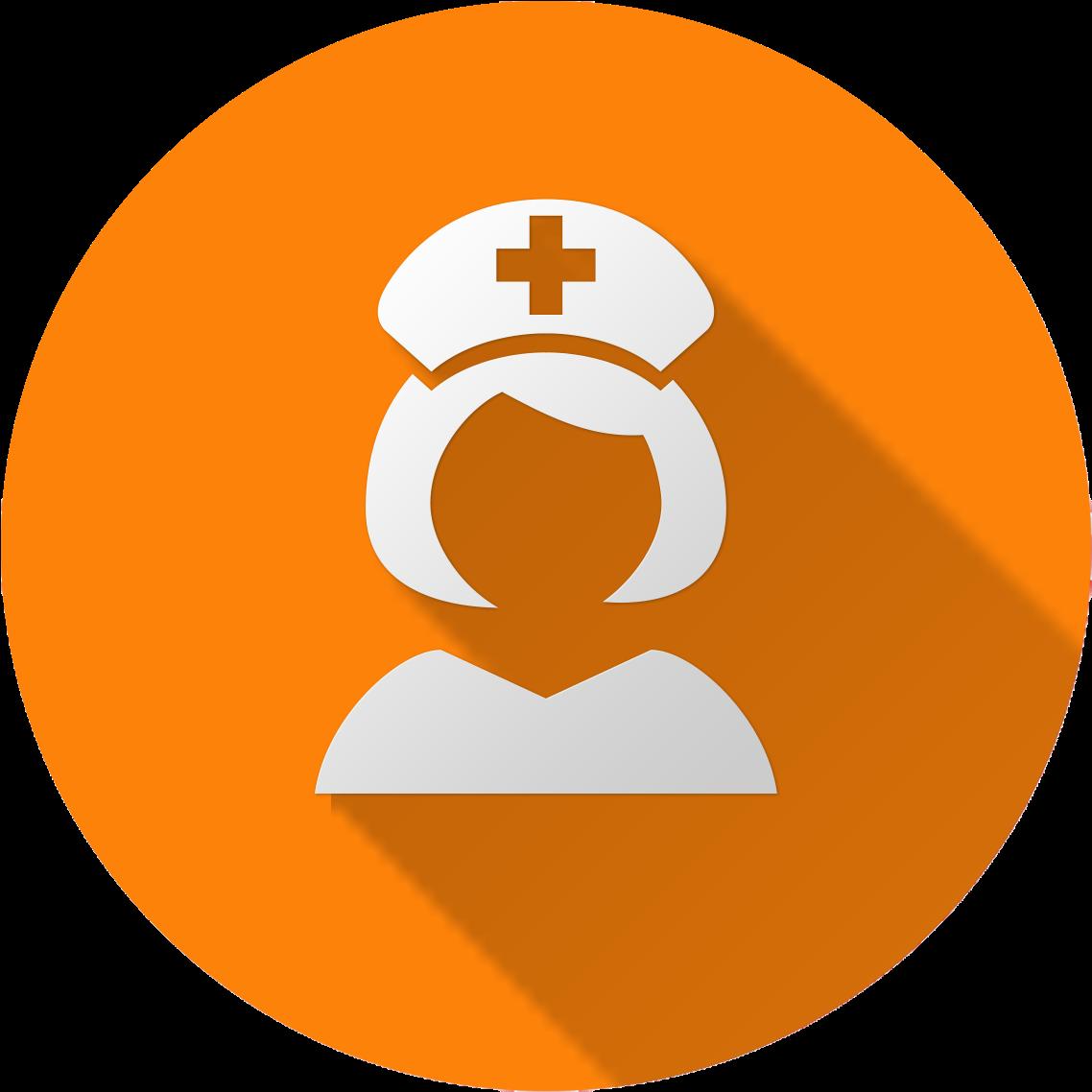 Download Nursing Purple Nurse Icon Full Size Png Image Pngkit