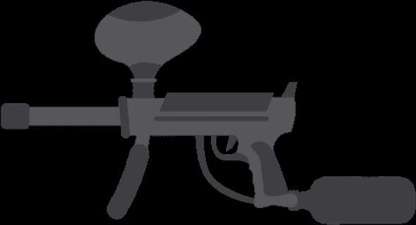 Download Gun Shot Clipart Paintball Paintball Guns Clipart Png Full Size Png Image Pngkit
