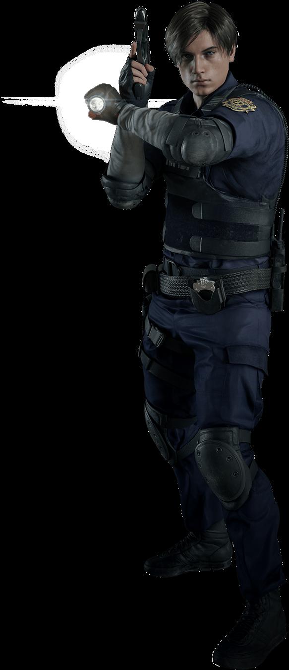 Download Leons Costume - Resident Evil 2 Remake Leon Render