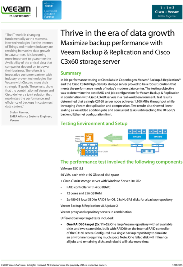 Download Thrive In The Era Of Data Growth - Veeam Software - Full