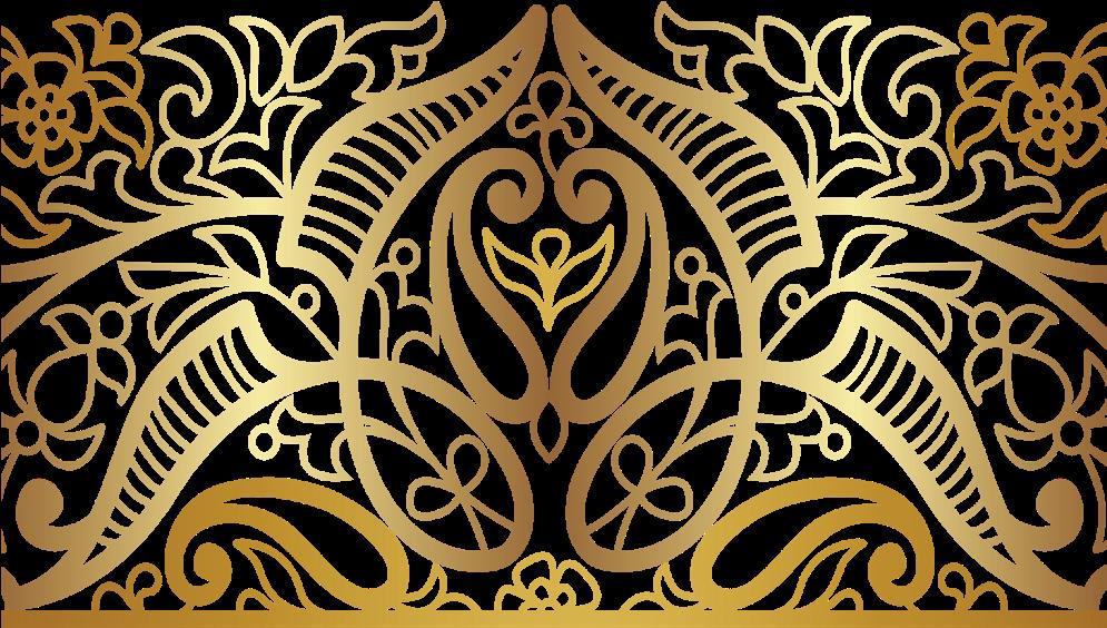 Download Mandala Swirls Design Pattern Paisley Gold