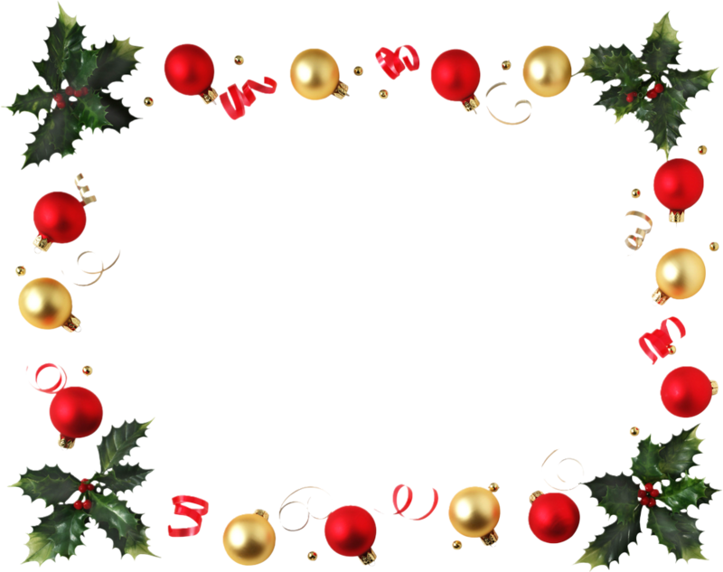 Download Clipart Cadre Noel Gratuit Christmas Decoration Border Png Full Size Png Image Pngkit