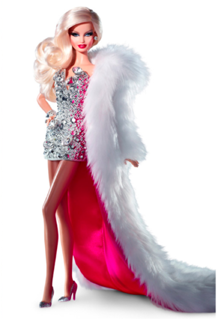 Download The Dress Is Based On One Of Their Own Fashion Designs Barbie Doll Full Size Png Image Pngkit