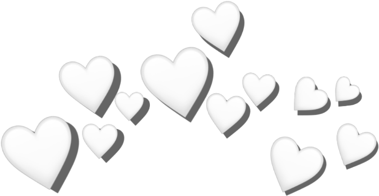 Anna besso nova : White heart crown png