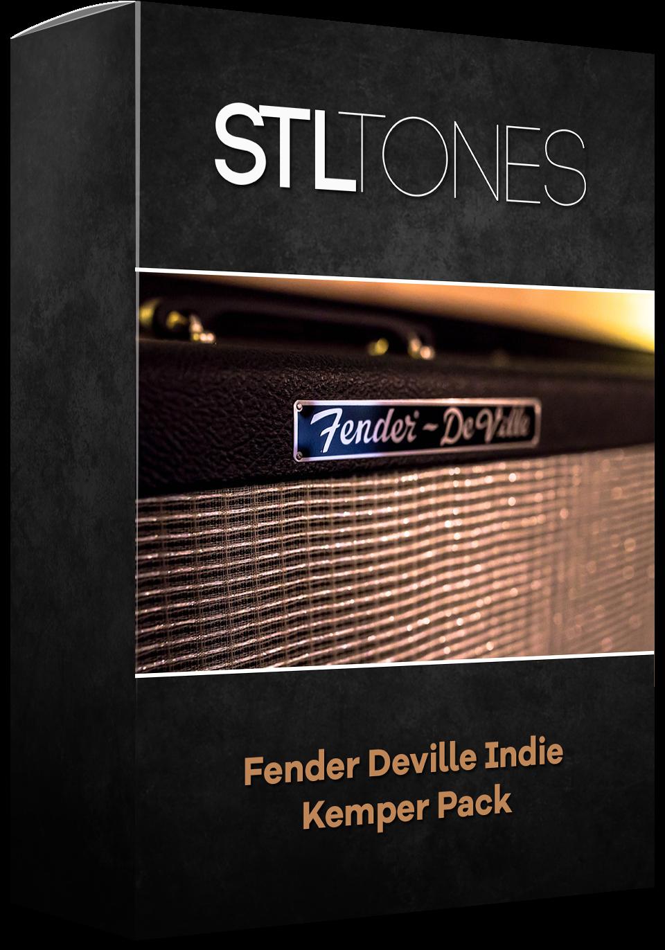 Download Fender Deville Indie Kemper Pack Stl Tones - Book Cover