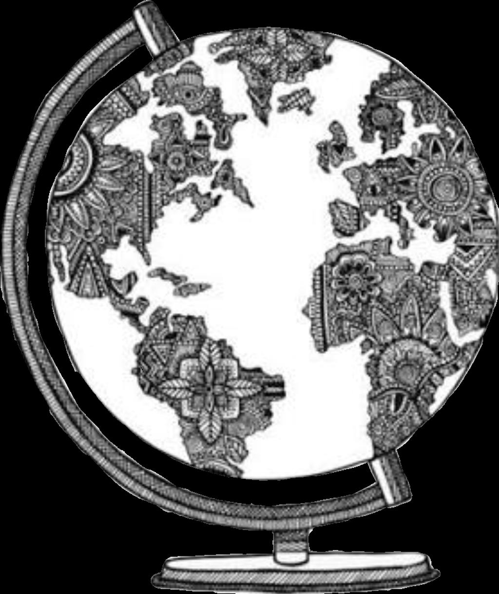 Download Mundo Sticker World Sketch Png Full Size Png Image Pngkit