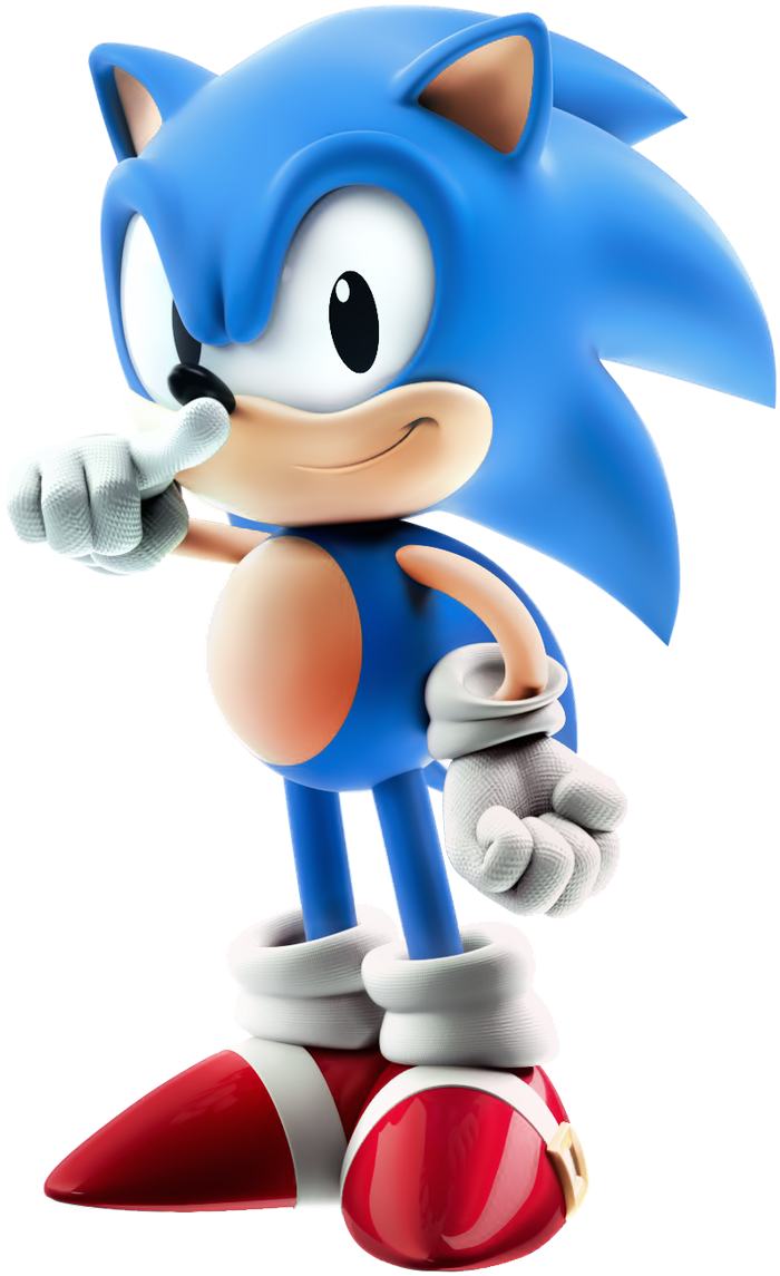 Download Testing Classic Sonic Sonic The Hedgehog Art Full Size Png Image Pngkit
