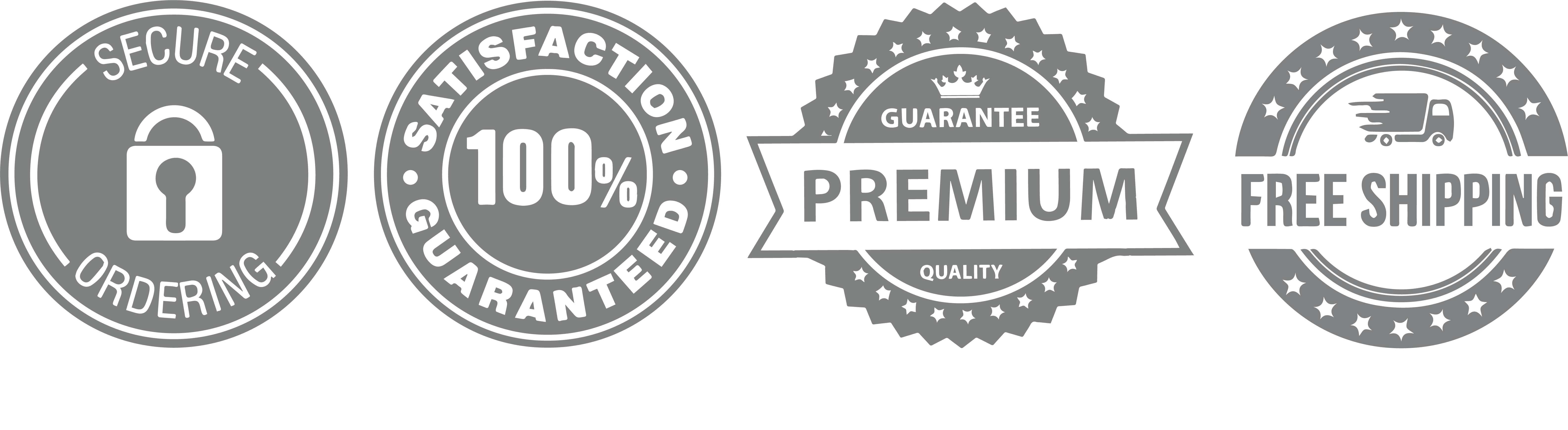 Download Free Shipping Trust Badges - Full Size PNG Image - PNGkit