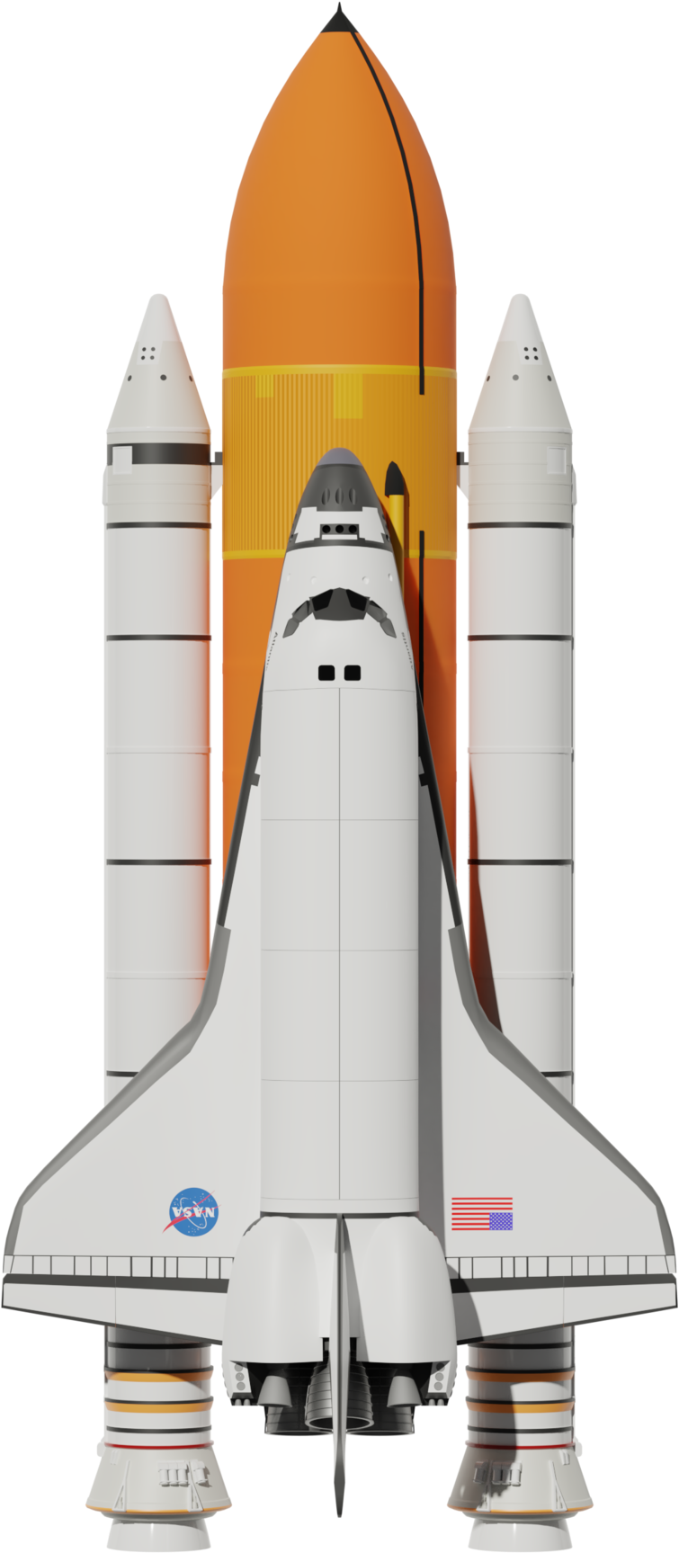 Download Space Shuttle Boosters And Fuel Tank - Fuel Space ...