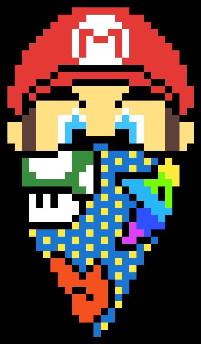 Download Gangster Mario Dessin Pixel Art Spider Man Full