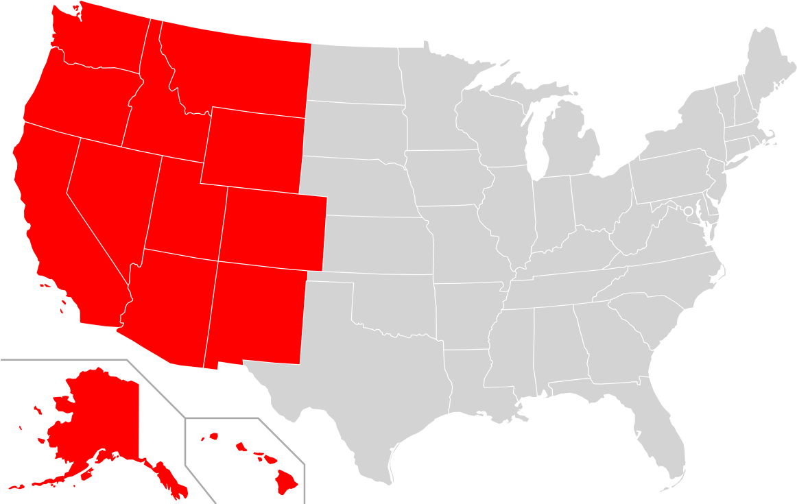 Download Western United States Wikipedia - States With Death Penalty